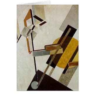 El Lissitzky- Proun 19D Greeting Card