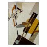 EL Lissitzky- Proun 19D Tarjetas