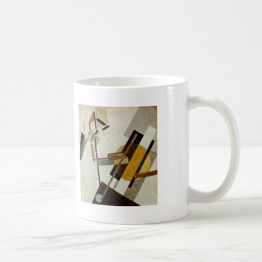 EL Lissitzky- Proun 19D Taza