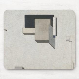 El Lissitzky- Proun 1 C Mouse Pad