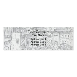 El Lissitzky- Reminiscence of Ravenna Business Card Template