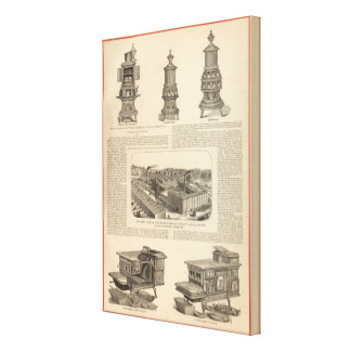 El Littlefield Stove Manufacturing Company Lona Envuelta Para Galerias