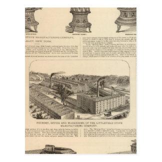 El Littlefield Stove Manufacturing Company Postal