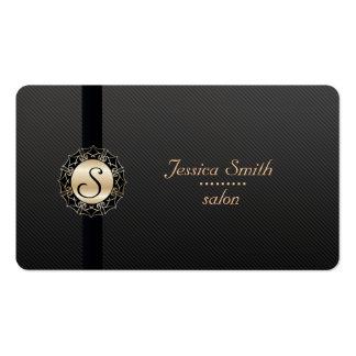 El llano moderno elegante profesional raya el tarjetas de visita