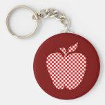El llavero a cuadros del profesor rojo de Apple