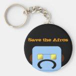 el llavero, ahorra el Afros