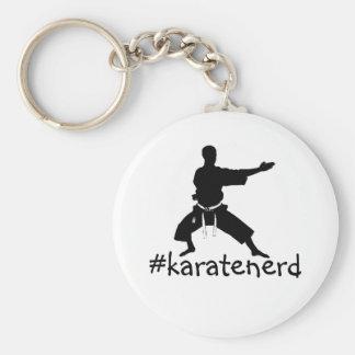 El llavero del empollón del karate de la manera de