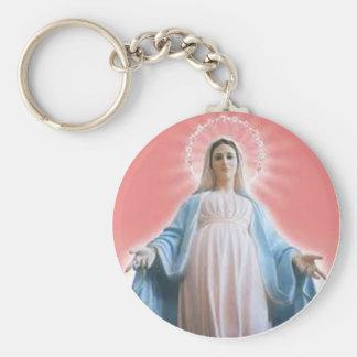 El llavero del Virgen María