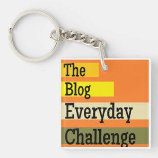 El llavero diario del desafío del blog
