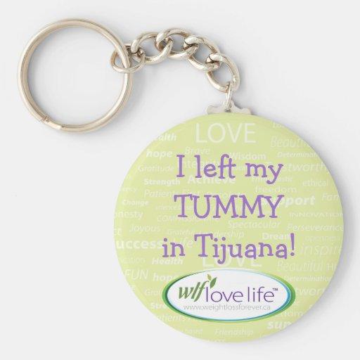 El llavero I dejó mi panza en Tijuana