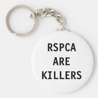 El llavero RSPCA es asesinos