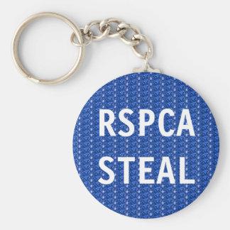 El llavero RSPCA roba