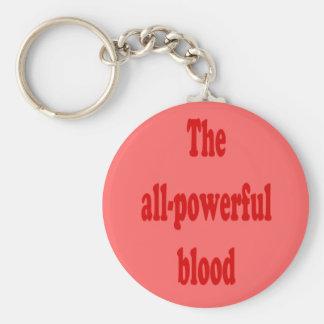 El llavero todopoderoso de la sangre