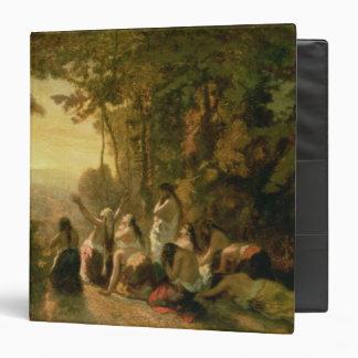 """El llorar de la hija de Jephthah, 1846 Carpeta 1 1/2"""""""