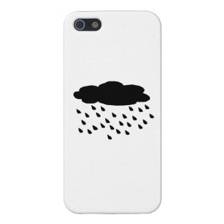 El llover iPhone 5 cárcasa