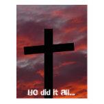 Él lo hizo todo…