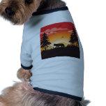 El lobo camisetas mascota
