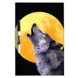El lobo grita en la Luna Llena Pizarra