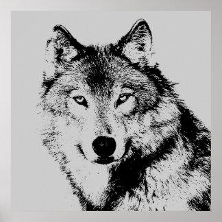 El lobo observa el poster
