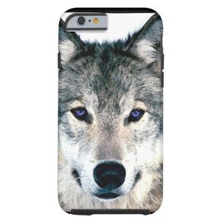 El lobo observa en el animal salvaje Printcas de