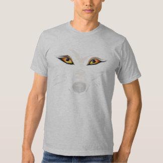 El lobo observa la camiseta playeras