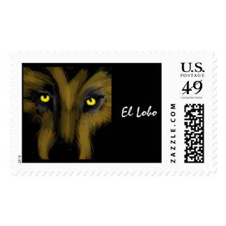 El Lobo Postage