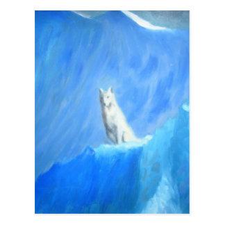 El lobo tarjetas postales