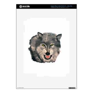 """El Lobo, The Wolf"" iPad 3 (Wi-Fi/Wi-Fi + 4G LTE) iPad 3 Skin"