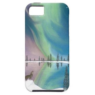 El lobo y el cometa iPhone 5 protectores