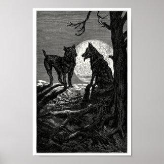 El lobo y el mastín posters