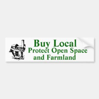 El Local de la compra protege el espacio abierto y Etiqueta De Parachoque