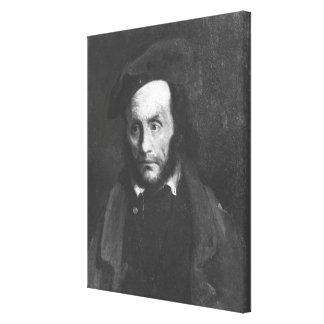 El loco o el secuestrador, c.1822-23 impresion en lona