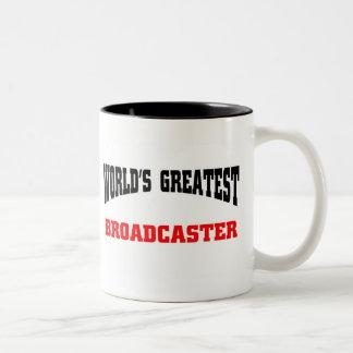 El locutor más grande taza