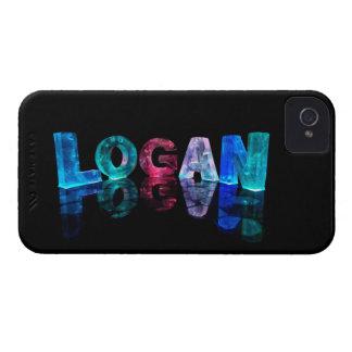 El Logan conocido en 3D se enciende (la Case-Mate iPhone 4 Coberturas