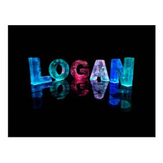 El Logan conocido en 3D se enciende (la Postal