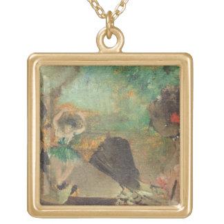 El Loge, c.1883 (aceite en la madera) Joyería