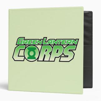 """El logotipo 2 del cuerpo de la linterna de Gren Carpeta 1 1/2"""""""