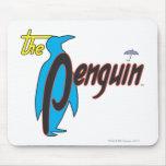 El logotipo 2 del pingüino tapete de ratones