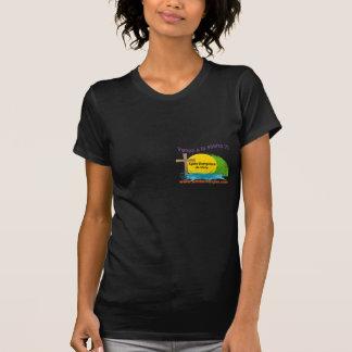 El logotipo AÑADE el agua Eglise Evangélique Camisetas