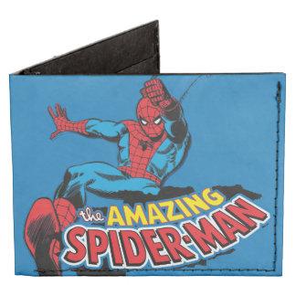 El logotipo asombroso de Spider-Man Billeteras Tyvek®