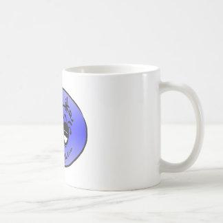 """El """"logotipo azul fresco"""" por """"vida tiene gusto de taza"""