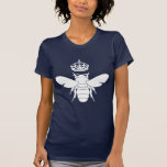 ¿El logotipo blanco de la abeja reina… es usted un Camisetas
