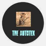 El logotipo de Autotex Avatar Etiquetas Redondas