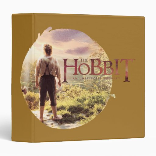 """El logotipo de Hobbit con BAGGINS™ apoya Carpeta 1 1/2"""""""