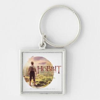 El logotipo de Hobbit con BAGGINS™ apoya Llavero Personalizado