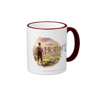 El logotipo de Hobbit con BAGGINS™ apoya Taza De Dos Colores