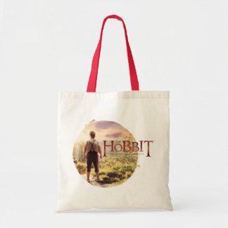 El logotipo de Hobbit con la parte posterior de Bi Bolsa Lienzo