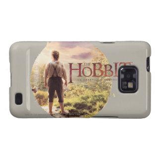 El logotipo de Hobbit con la parte posterior de Bi Galaxy S2 Carcasas