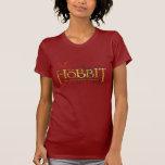 El logotipo de Hobbit sobre las montañas Polera
