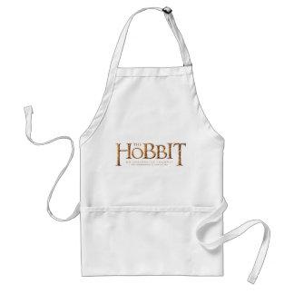 El logotipo de Hobbit texturizado Delantales